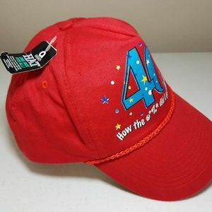 3a80e17a578 Amscan Accessories - 40th Birthday Baseball Cap Hat How the   %  did I